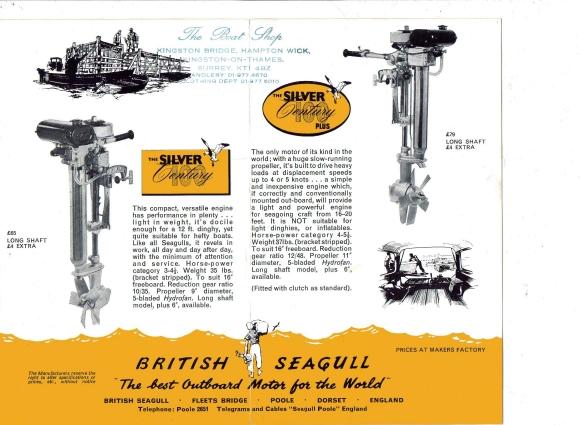 seagull leaflet 580 British Seagull